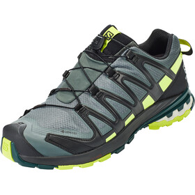 Salomon XA Pro 3D v8 GTX Sko Herrer, urban chic/black/lime punch